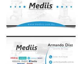 Nro 5 kilpailuun Diseñar tarjeta de presentación para empresa de venta de equipo médico käyttäjältä ivans1698