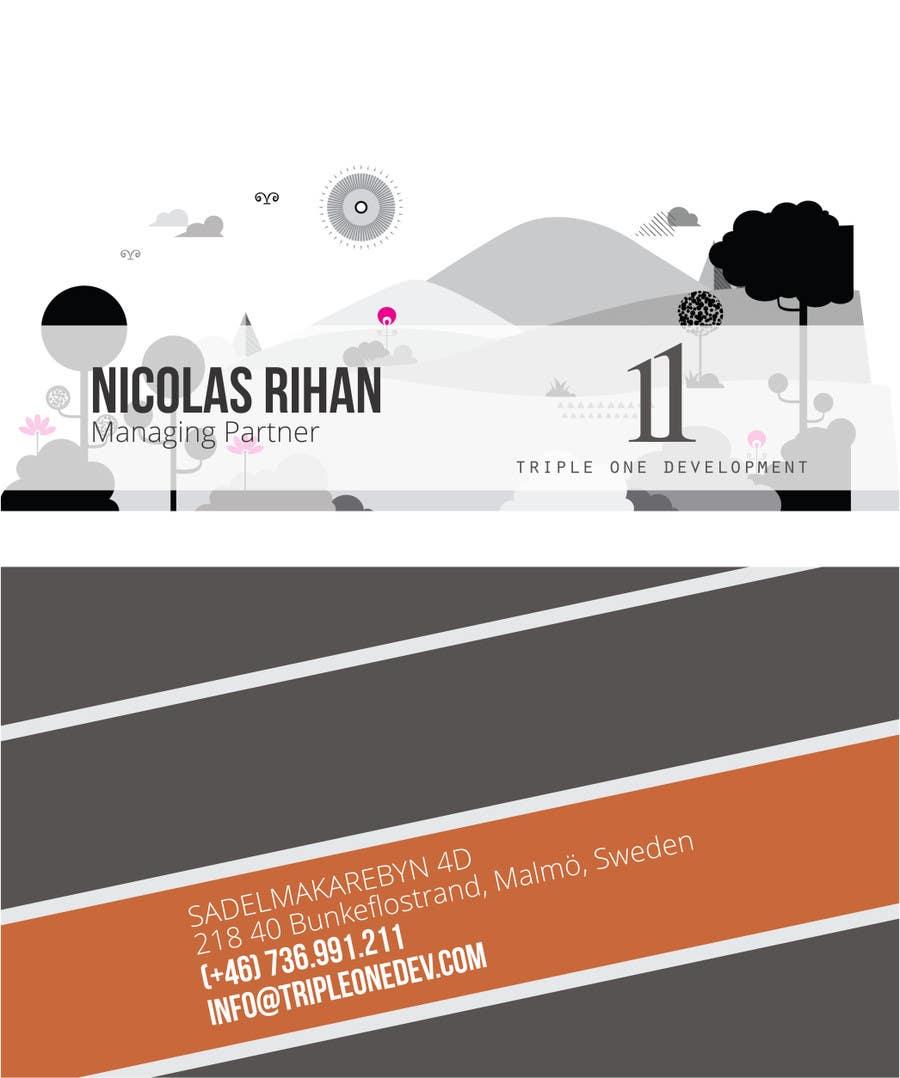Penyertaan Peraduan #59 untuk Design some Stationery for web design company
