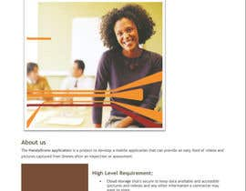 Nro 3 kilpailuun Design a Brochure käyttäjältä alisa97100