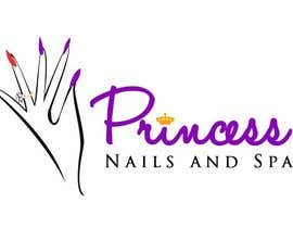 #61 cho Design a Logo for Princess Nails and Spa bởi vishnuremesh