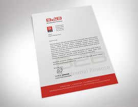 #2 para Design some Stationery for a letterhead for B2B por rimskik