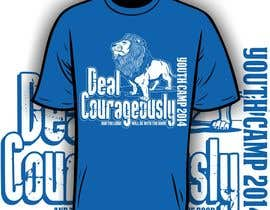 "#89 untuk Design a T-Shirt with the slogan ""Deal Courageously"" oleh iYNKBRANE"