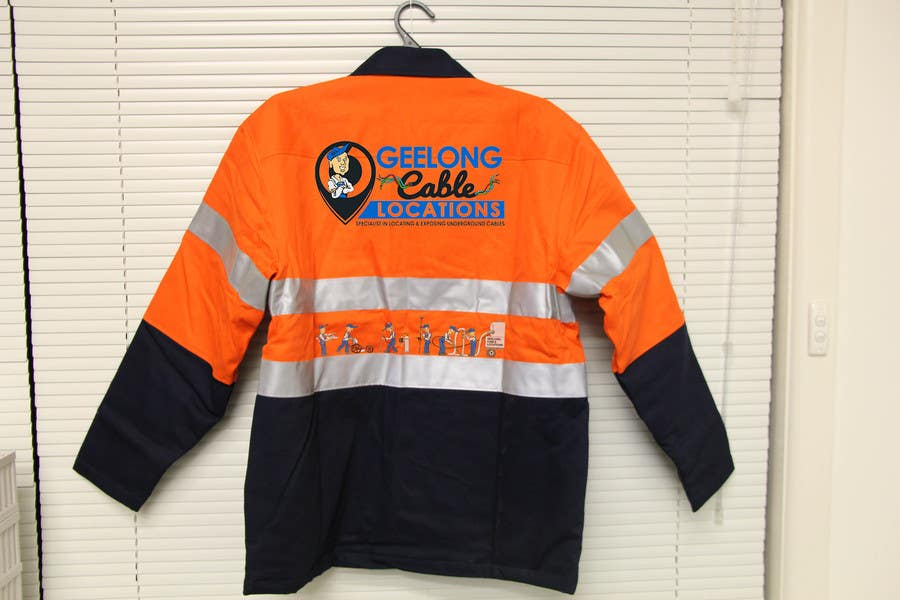 Contest Entry #                                        29                                      for                                         Design some embroidery the for Geelong Cable Locations uniform.