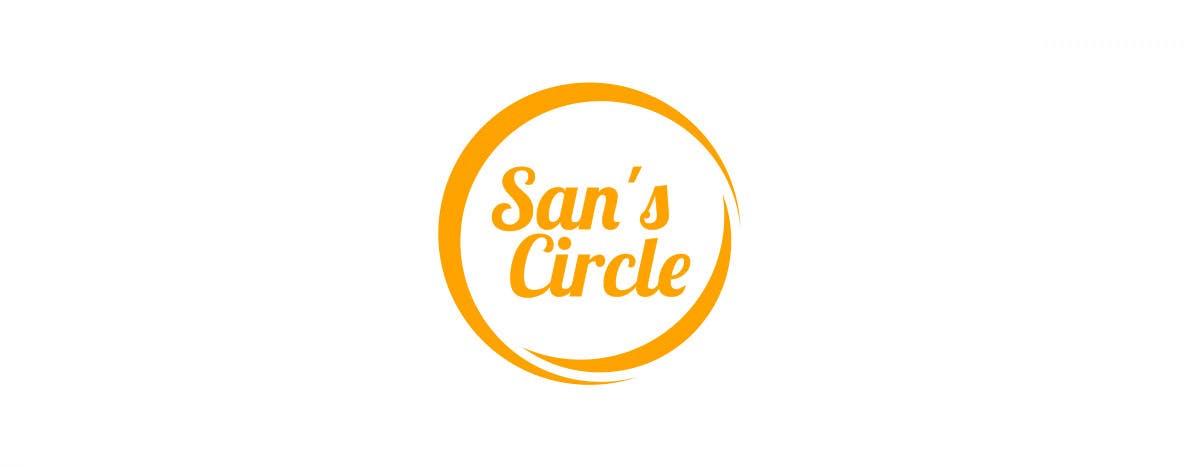 Kilpailutyö #127 kilpailussa Design a Logo for San's Circle