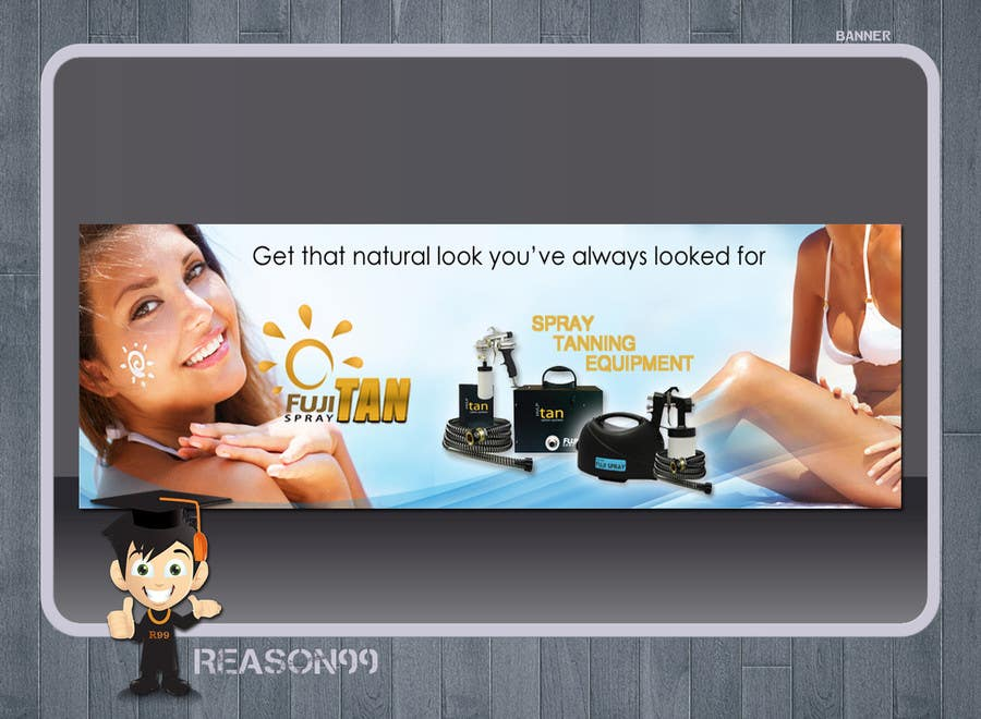#33 for Design for banner advertisiment by Reason99