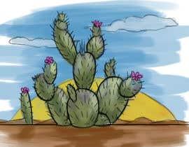Nro 17 kilpailuun Cactus Redesign For T-shirt Print käyttäjältä artofnishan