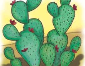 Nro 1 kilpailuun Cactus Redesign For T-shirt Print käyttäjältä kngoenprayoon