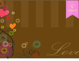 #12 untuk Illustrate background for Valentine oleh Juliannaputri