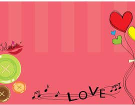 #13 for Illustrate background for Valentine by Juliannaputri