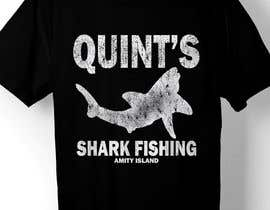 Nro 34 kilpailuun Design a Shark Fishing T-Shirt käyttäjältä ratnakar2014