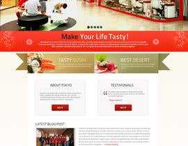 #76 cho Design a Website Mockup for a Restaurant bởi jai07