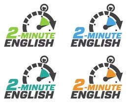nº 157 pour Design a Logo for 2 minute English par izzrayyannafiz