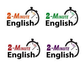 #159 untuk Design a Logo for 2 minute English oleh gabrisilva