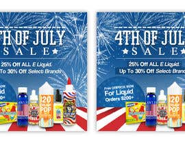 #7 for Email Marketing Banner For July 4th (US Holiday) by ClaudiuTrusca