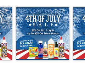 ClaudiuTrusca tarafından Email Marketing Banner For July 4th (US Holiday) için no 8