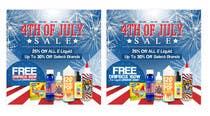 Graphic Design Kilpailutyö #22 kilpailuun Email Marketing Banner For July 4th (US Holiday)