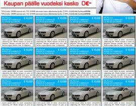 blackd51th tarafından Re-design car dealer newspaper ad's için no 30
