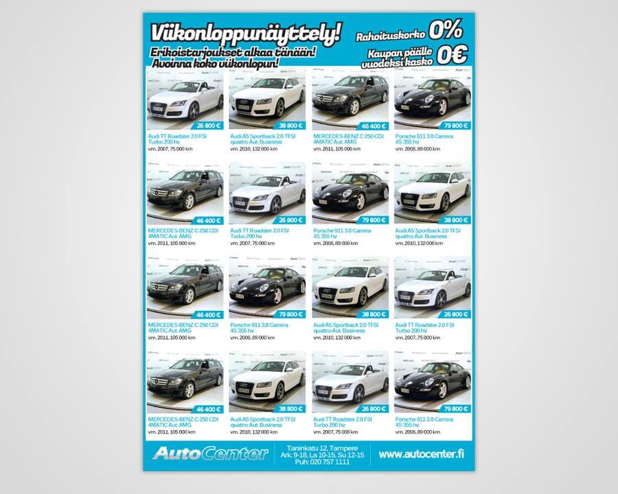 Inscrição nº 29 do Concurso para Re-design car dealer newspaper ad's