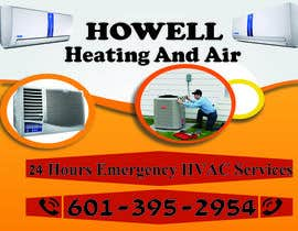 Ammar619 tarafından Corel draw Design -  Yard Sign for HVAC company için no 15