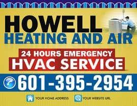 dekaszhilarious tarafından Corel draw Design -  Yard Sign for HVAC company için no 14