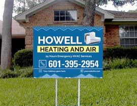 Hammadbhatty tarafından Corel draw Design -  Yard Sign for HVAC company için no 2