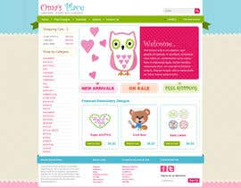 #9 for Design a Website Mockup for Oma's Place.com af Azavedo