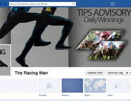 mogosalexandru tarafından The Racing Man - I need a Facebook Profile picture and cover photo designed için no 46