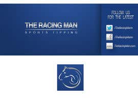 MaynardDesign tarafından The Racing Man - I need a Facebook Profile picture and cover photo designed için no 48
