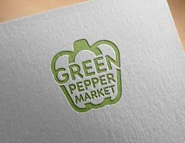 #95 for Design Green Pepper Market Logo by notaly