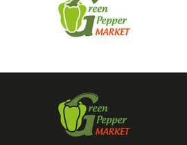 #92 for Design Green Pepper Market Logo by YuriiMak