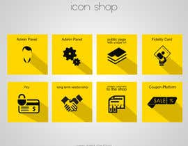 #15 untuk Design some Icons for features of a coupon service oleh OnClickpp
