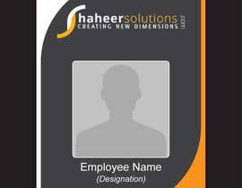 #8 for Employee Identity card design. af nikster08