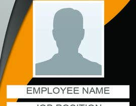 #28 for Employee Identity card design. af IreneSkywalker