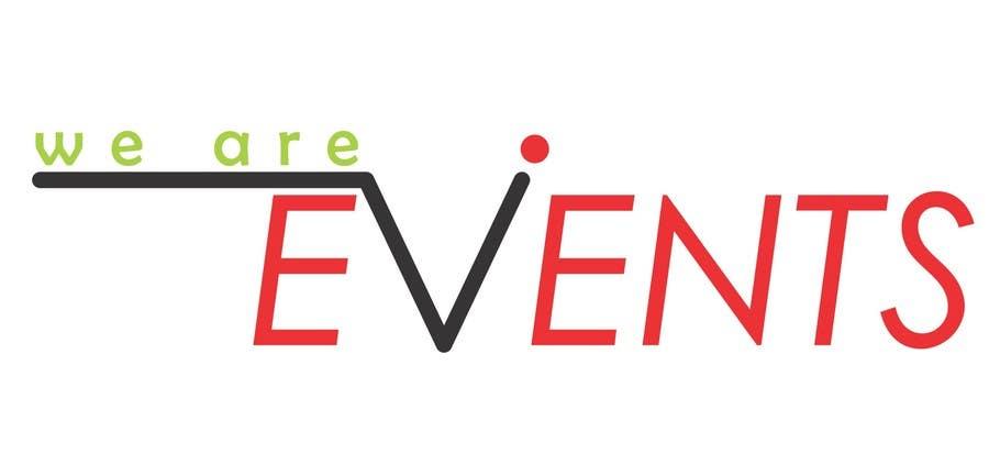 WE ARE EVENTS için 124 numaralı Yarışma Girdisi