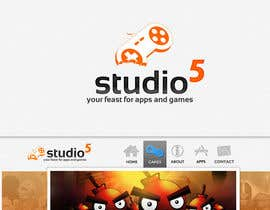 nº 521 pour Logo Design for Studio 5 par jagadeeshrk