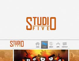 #166 for Logo Design for Studio 5 by jagadeeshrk