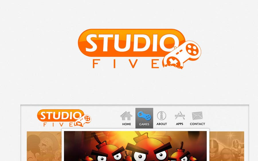Contest Entry #853 for Logo Design for Studio 5