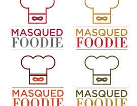 nº 50 pour Design a Logo for Masqued Foodie par leandrobertoia
