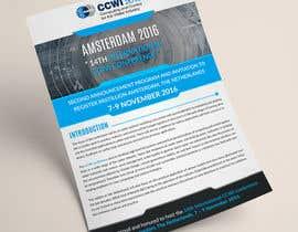 Nro 7 kilpailuun Design a conference brochure / flyer / folder käyttäjältä sdinfoways