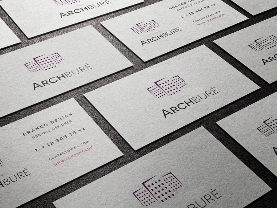 Kilpailutyö #40 kilpailussa Design a Logo for architecture company