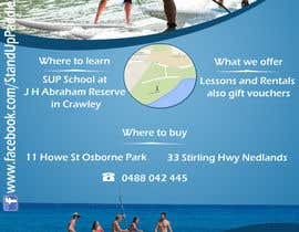 #47 for Design a Flyer for a Stand Up Paddle School af kumudjoshi