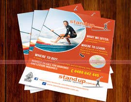 #40 for Design a Flyer for a Stand Up Paddle School af iTechnoVista