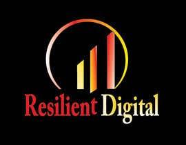 Nro 12 kilpailuun Refreshed logo design for resilient digital käyttäjältä AlyAsim99