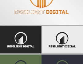 Nro 25 kilpailuun Refreshed logo design for resilient digital käyttäjältä UnstableEntropy