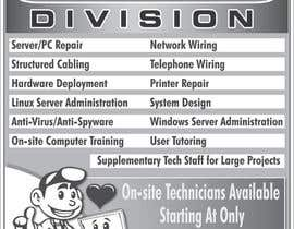 #29 pentru Flyer Design for Tech Services Division de către blacklist08