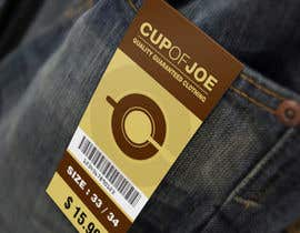 #14 for LABEL DESIGN FOR DENIM TROUSERS by suneshthakkar