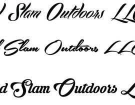 """Amindesigns tarafından Unique font design for company name """"Grand Slam Outdoors LLC"""" için no 39"""