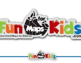 #63 for Design a Logo for FunMapsForKids.com af rogeliobello