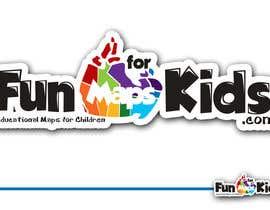 rogeliobello tarafından Design a Logo for FunMapsForKids.com için no 64
