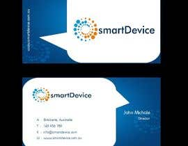 #23 para Design some Business Cards for smartDevice por mogharitesh